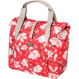 Basil shoppertas Magnolia poppy red