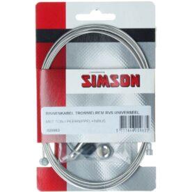 Simson bnkabel rem 2 nipp uni RVS