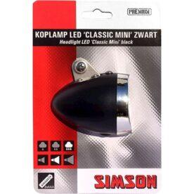 Simson kopl Classic mini led 4 lux batt