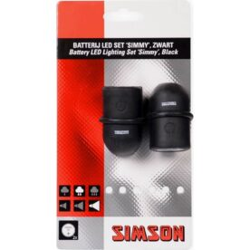 Simson verl set Simmy 29/13,5 lux batt zwart