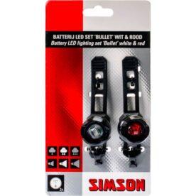 Simson verl set Bullit 2,5/1,5 lux batt