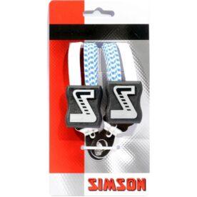Simson snelbinder kort wt/bl