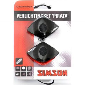 Simson led set Pirata batt