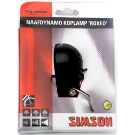 Simson koplamp Roxeo aan/uit dynamo 15 lux
