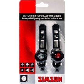 Simson verlichtingsset Bullit batterij