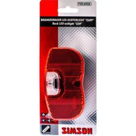 Simson achterlicht Cliff batterij 50/80mm