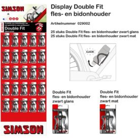 Simson pakket bidonhouder DoubleFit