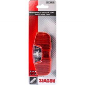 Simson achterlicht Coast batterij 80mm