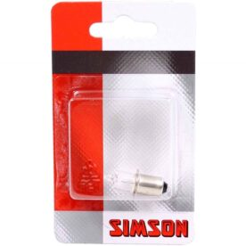 Simson lampje voorlicht halogeen 6 volt / 3 watt kraag