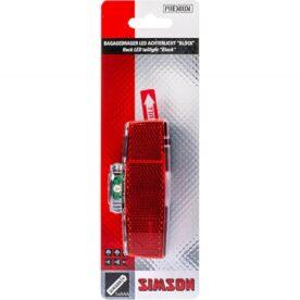 Simson achterlicht Block batterij 80mm