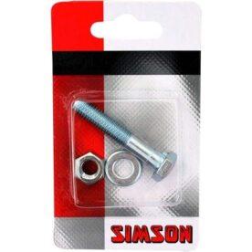 Simson zadelpenbout M8x45