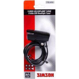 Simson koplamp Luna 6-60v 25 lux E-bike