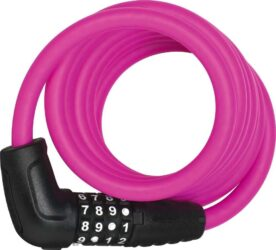 Abus kabelslot code Numero 5510C/180 pink SCMU